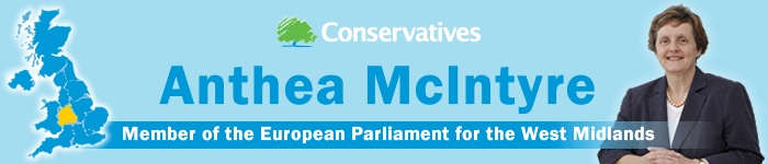 Anthea Mcintyre, MEP, West Midlands UK